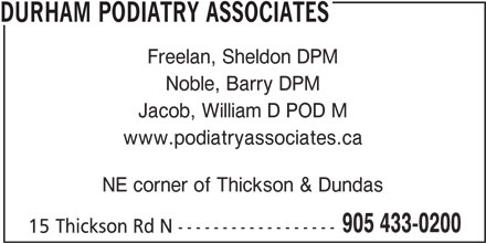 ad Durham Podiatry Associates