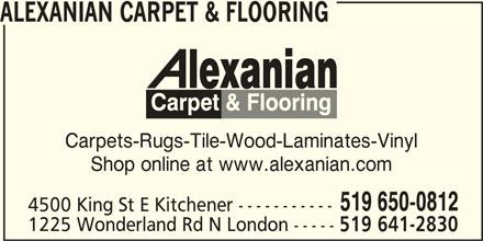Alexanian Flooring Kitchener