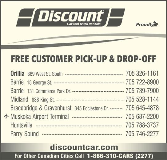 Discount Car Rental Orillia
