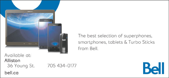 Bell (705-434-0177) - Display Ad -