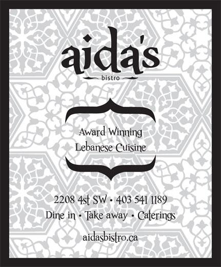 Aida's Mediterranean Bistro (4035411189) - Display Ad -