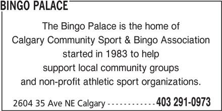 Bingo Palace Calgary