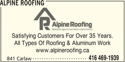 ad Alpine Roofing