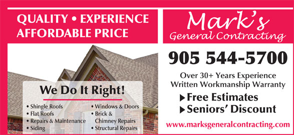 Mark S General Contracting Canpages