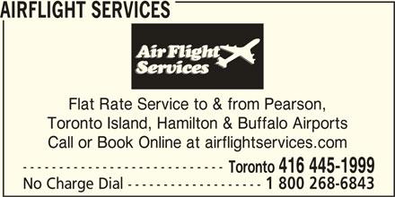 Airflight Services (4164451999) - Annonce illustrée======= -