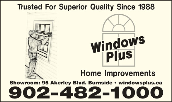 Windows Plus Home Improvements Opening Hours E 95