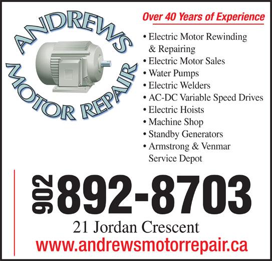 Andrews Motor Repair Opening Hours 21 Jordan Cres
