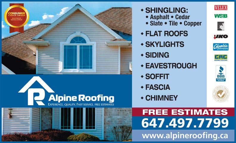 Ads Alpine Roofing