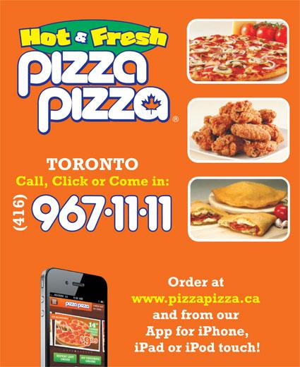 Pizza Pizza (4169671111) - Annonce illustrée======= -