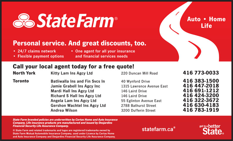 Ads State Farm