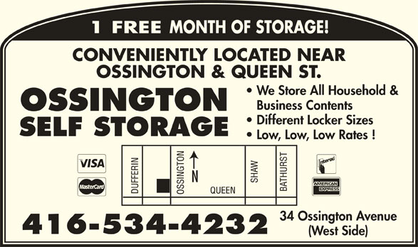 Ads Ossington Self Storage