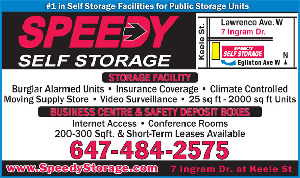 Ads Speedy Self Storage Inc